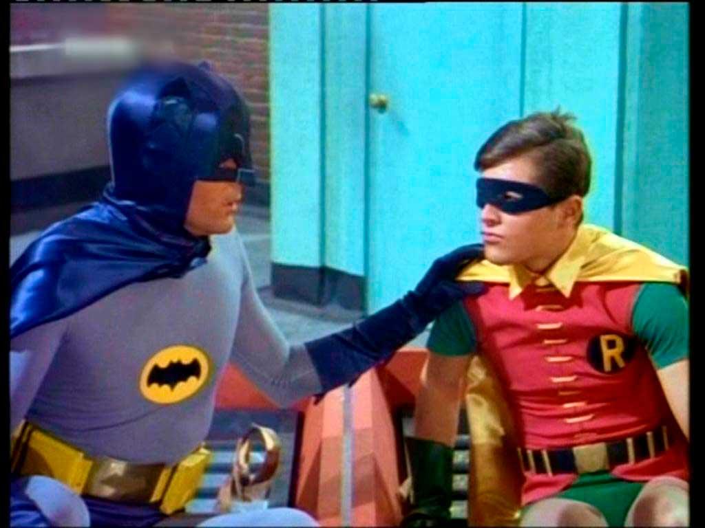 El color en Batman
