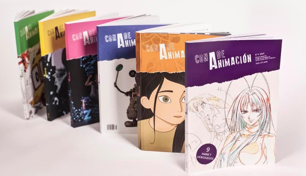 Revistas de Con A de animación