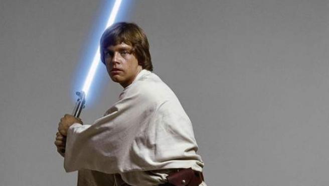 Skywalker con su espada