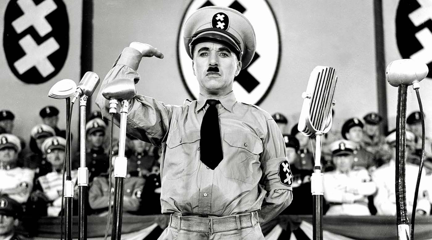 Charles Chaplin, The great dictator
