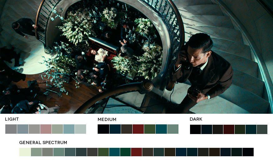 El gran Gatsby (2013). Cinematógrafo: Simon Duggan